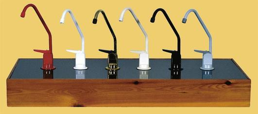Multifaucet Sink