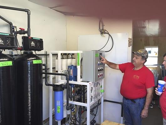 biotek installing water softener