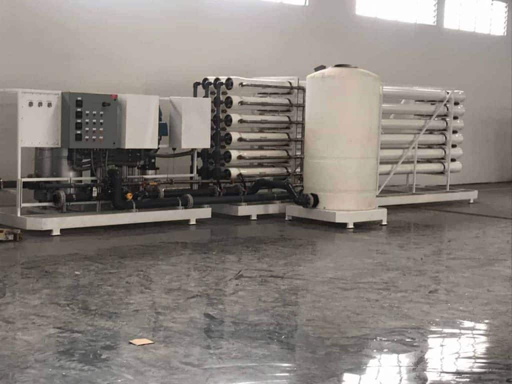 BioTech Water Researchers Commercial Bottled Water Factory