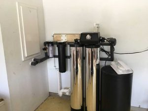 Residential Twin Alternating Water Softener installation in San Antonio