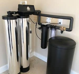 Residential Twin Alternating Water Softener System